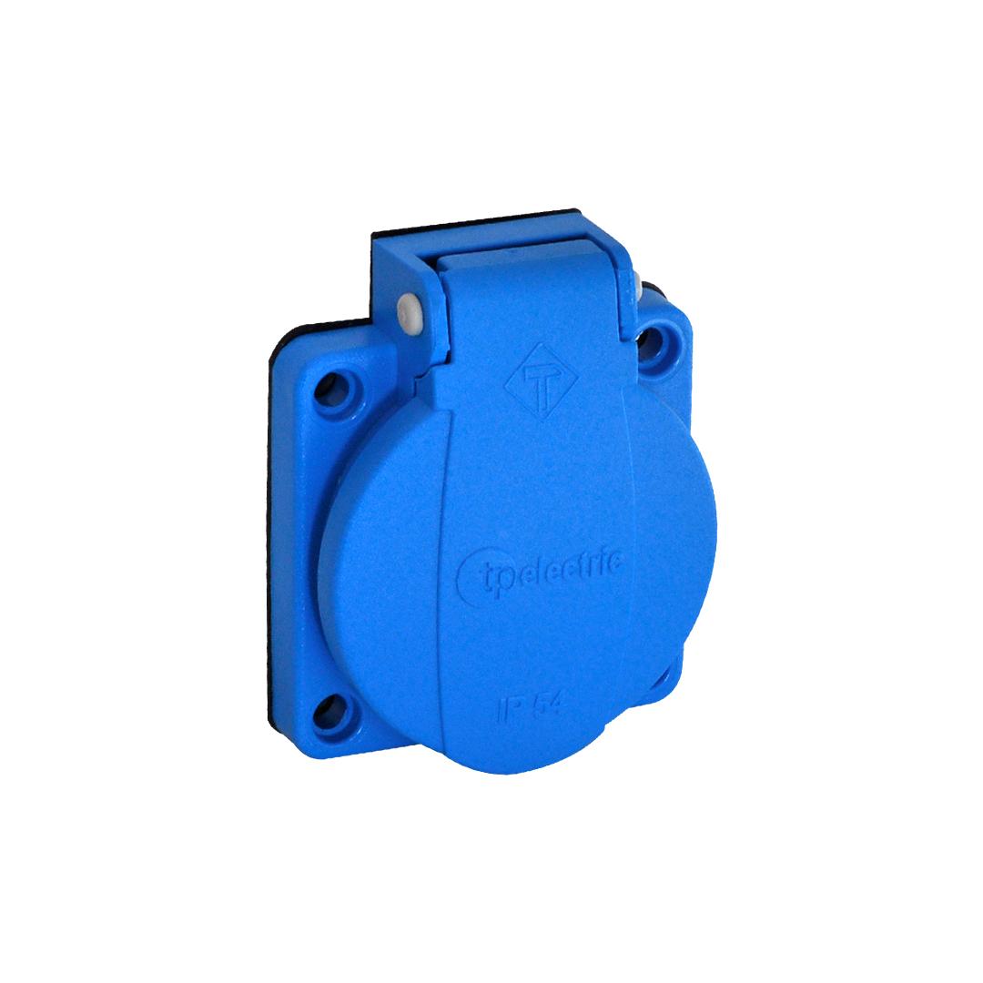 Розетка приборная Schuko (с) 16A/240В/IP44 3101-310-0900