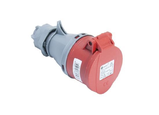 Розетка кабельная переносная 16A/400В/3P+N+E/IP 44 3105-304-1600
