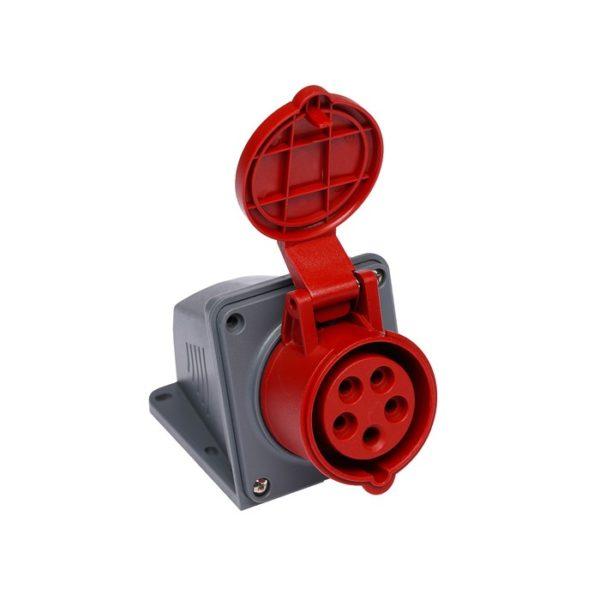 Розетка кабельная настенная 16A/400В/3P+N+E/IP 44 3105-307-1600