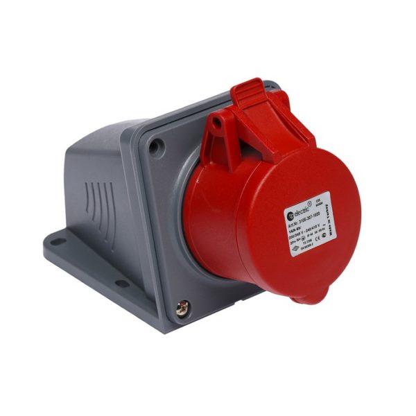 Розетка кабельная настенная 16A/400В/3P+N+E/IP 44