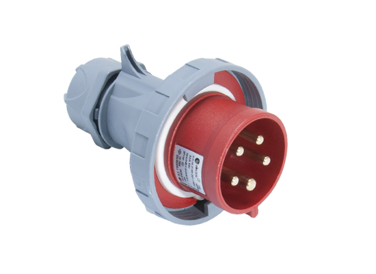 Вилка кабельная переносная 32A/400В/3P+N+E/IP 67 3108-301-1600