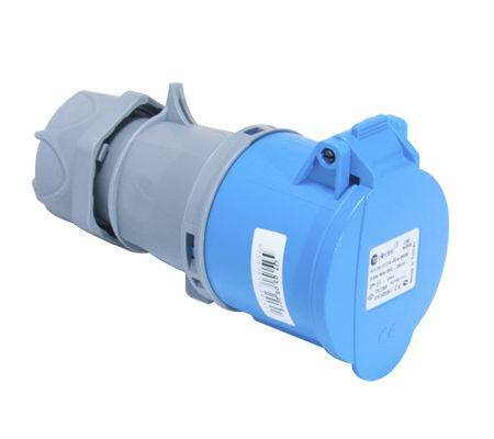 Розетка кабельная переносная 32A/250В/2P+E/IP 44 3124-304-0900