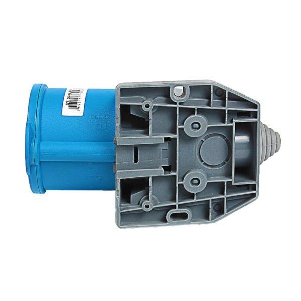 Розетка кабельная настенная 32A/250В/2P+E/IP 44