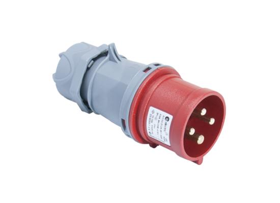 Вилка кабельная переносная 32A/400В/3P+E/IP 44 3126-301-1600
