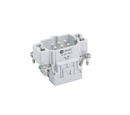 """Контактная группа промышленного разъёма типа HDC, винтовые зажимы кабеля, 6x16A/500В/6P + E, """"мама"""" / """"гнездо"""""""