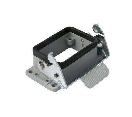 Корпус промышленного разъема типа HDC 6P+E / 16A / 500V