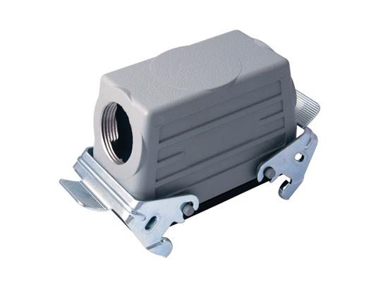 Корпус для промышленного разъема многоконтактного многополюсного 16P+E / 16A / 500V