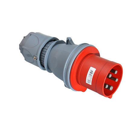 Вилка кабельная переносная 63A IP44